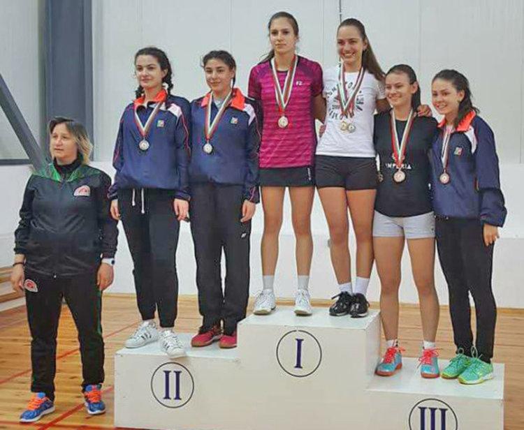 Таня Иванова донесе злато от шампионата в Оряхово