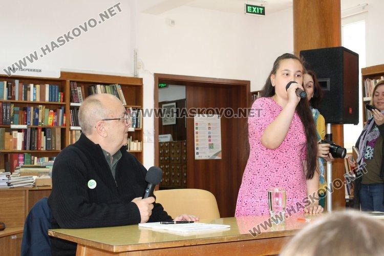Поетът Виктор Самуилов към каравеловци: Не бързайте да пораствате!