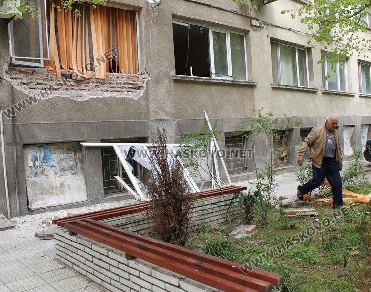 Гръмна газова бутилка в димитровградски апартамент