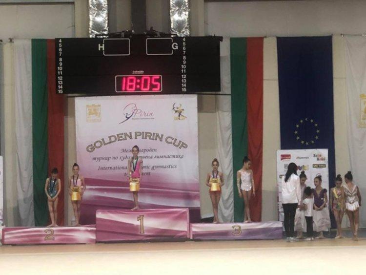 """Златно момиче от Перник обра медалите на """"Golden Pirin Cup"""""""