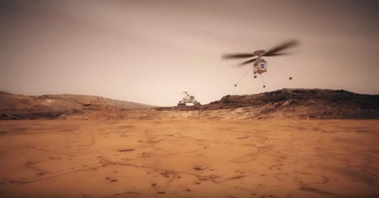 НАСА праща мини-хеликоптер на Марс