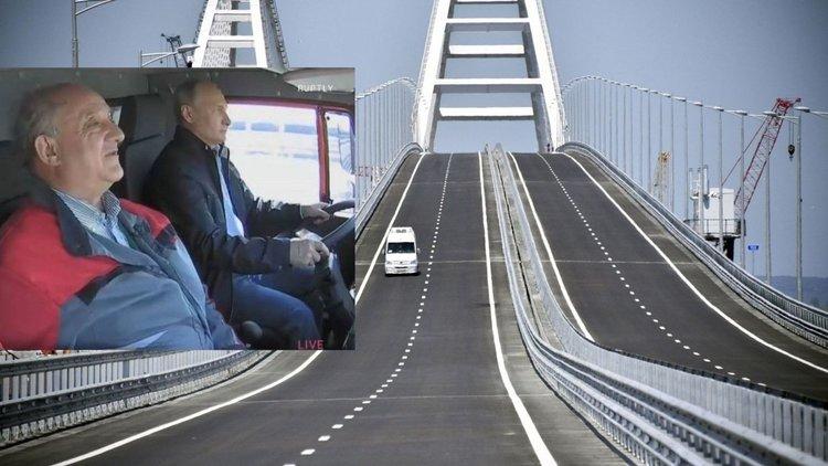 Путин откри Кримския мост (Видео)
