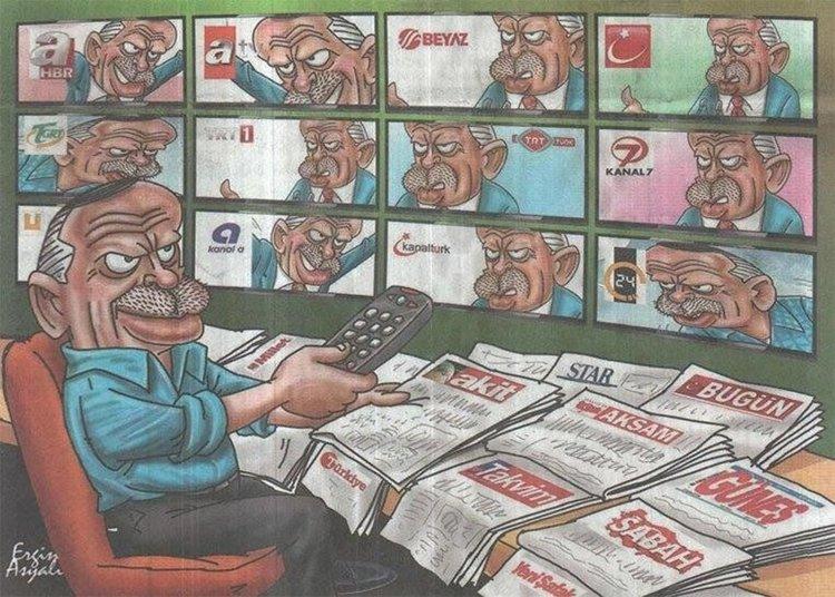 Възможно ли е медиите да свалят Ердоган