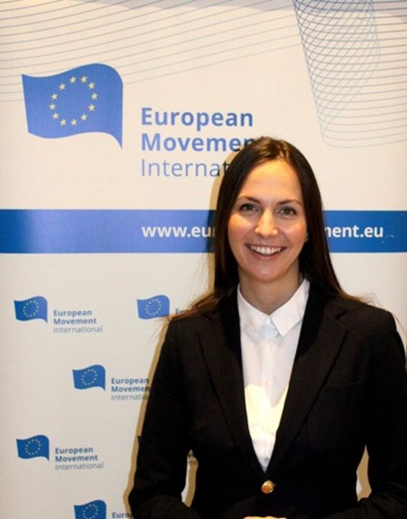 Евродепутатът Ева Майдел на среща в Димитровград