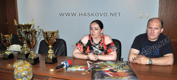 Милена Налбантова и Росен Божилов