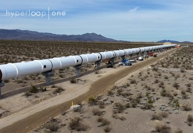 Звукът в Hyperloop One (видео)