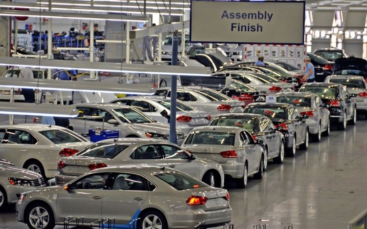 Заводът на Фолксваген в Чатануга, Тенеси