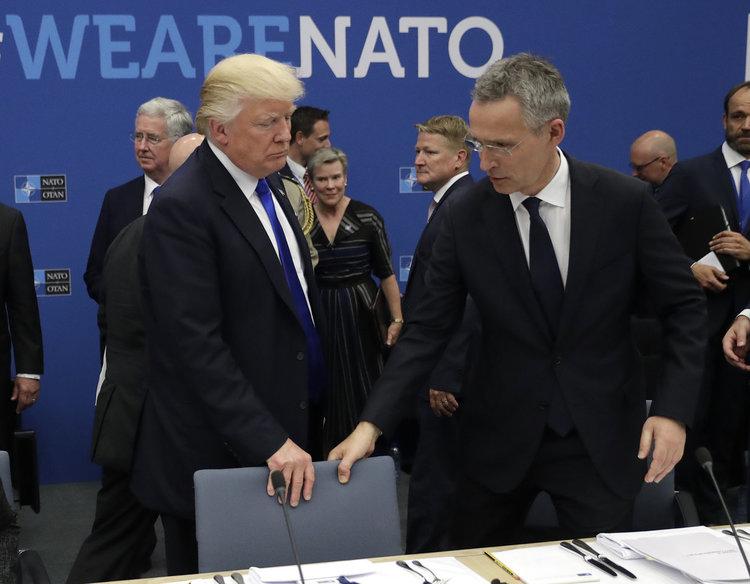 Тръмп на Столтенберг: Германия е пленник на Русия