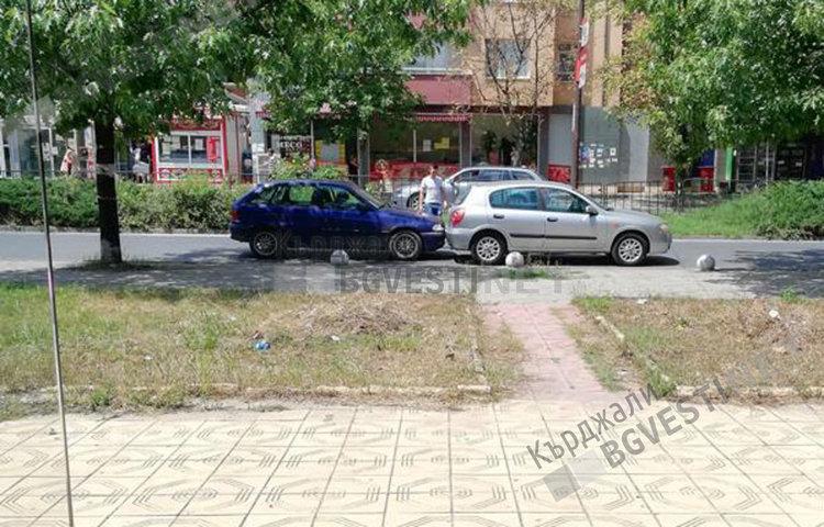 """Две коли се нанизаха на бул.""""Христо Ботев"""""""