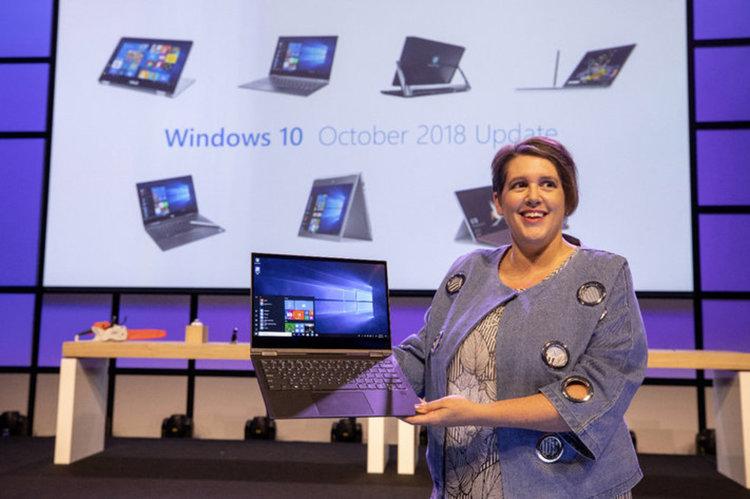 Пето голямо обновление на Windows 10 през октомври