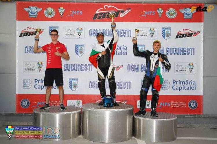 Валентин Тодоров е трети в Европа във Формула 600
