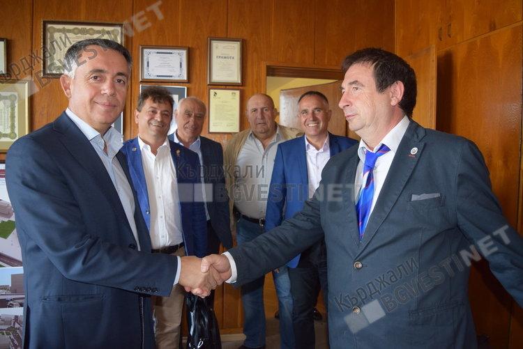Ротари клуб Кърджали и Община Кърджали в добро партньорство, договарят нови инициативи