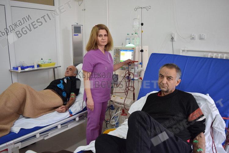 Болницата в Кърджали поиска  средства за хемодиализата, здравното министерство отпуска