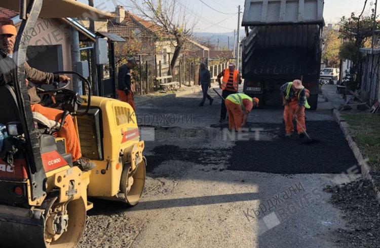 Никола Чанев осигури средства за поправката на пътя за Мишевско, жителите благодарни