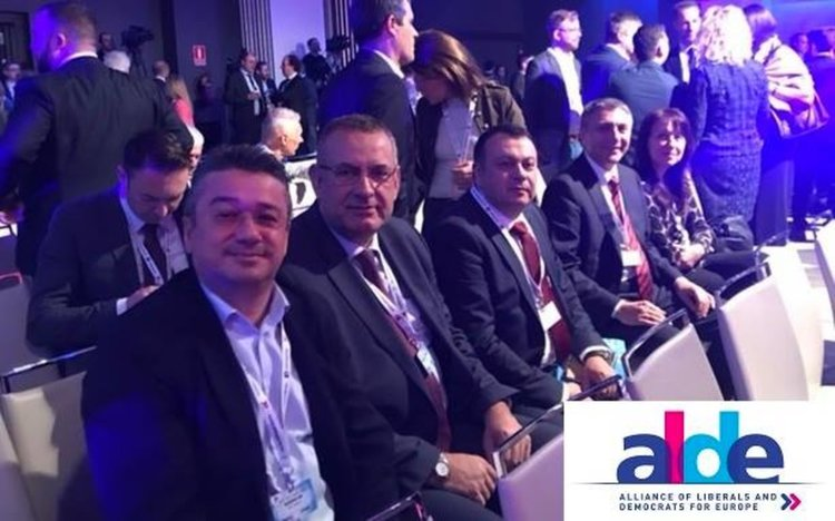 "Форум ""1000 евролиберали"": Мустафа Карадайъ, Хасан Азис и Неджми Али на конгреса на АЛДЕ"