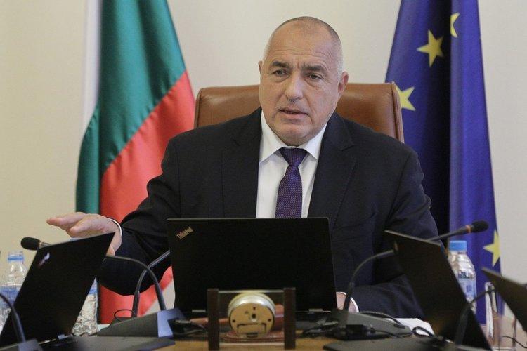 Бойко Борисов прие оставката на Валери Симеонов