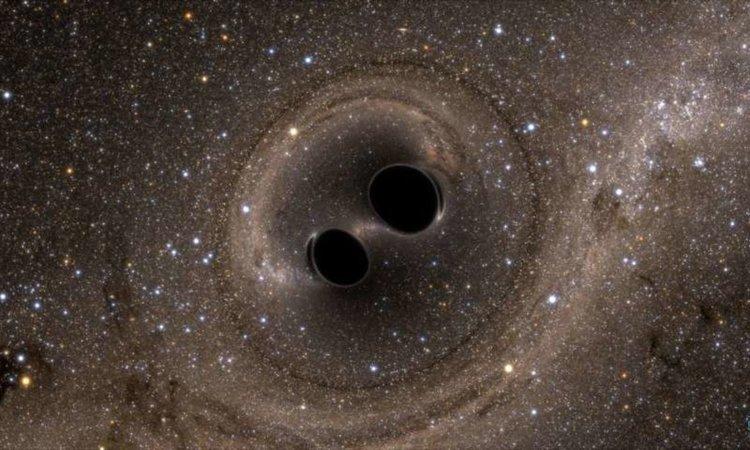 Засякоха най-голямото и най-отдалечено сливане на черни дупки (видео)