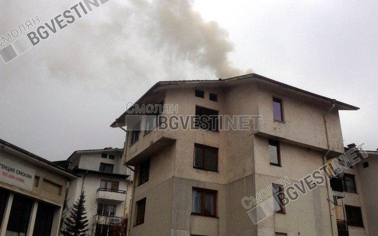 45 пожара само за месец в Смолянско и областта, основно заради непочистени комини