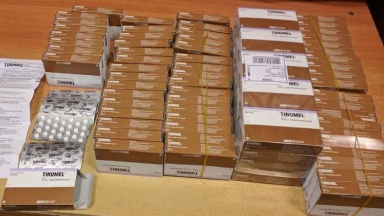 Хванаха хиляди хапчета за отслабване и ампули за подмладяване на Капитан Андреево
