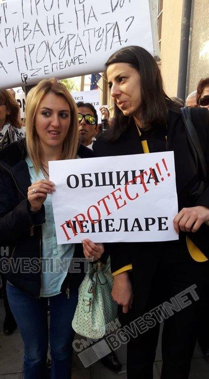 Чепеларе отново на протест, този път затварят изцяло пътя Пловдив-Смолян