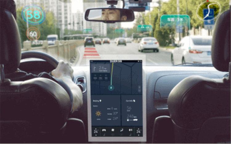 """Платформата Apollo на Baidu вече поддържа шофиране в """"сложни градски зони и предградия"""". Сн.: Apollo"""