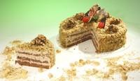 Домашна торта с орехи