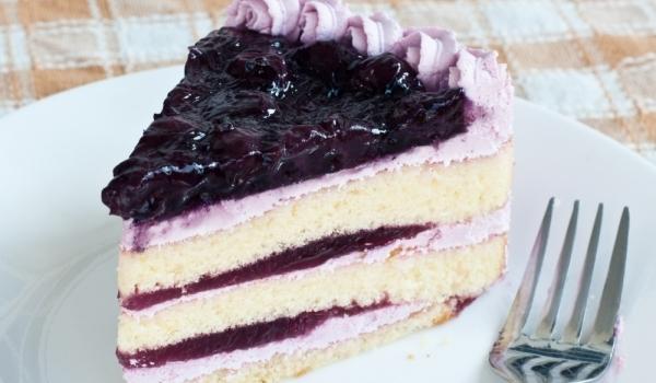 Лесна боровинкова торта