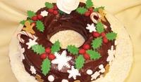 Новогодишна торта венец