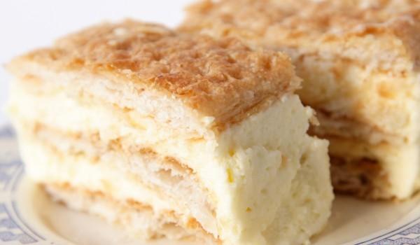 Торта с крема сирене