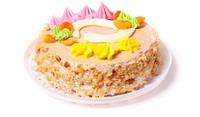 Еклерова торта с крем Брюле