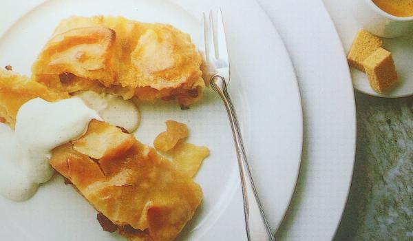 Виенски ябълков щрудел
