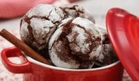 Шоколадови бисквити Сняг