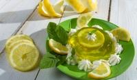 Желе с лимон