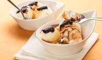 Карамелов сладолед с мед