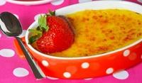 Крем Брюле с ягоди