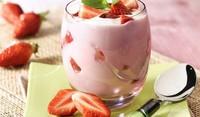 Диетичен крем с плодове
