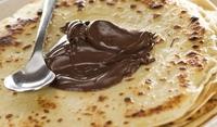 Слепени палачинки с течен шоколад
