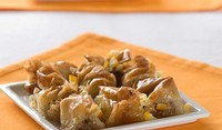 Точена баница с орехи