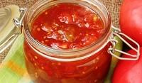 Сладко от червени домати
