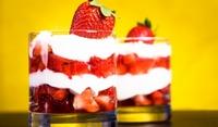 Лесен английски десерт с целувки