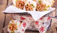 Френски бадемови бисквити с орехи