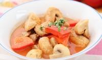 Печурки със зеленчуци и сметана