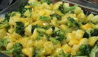 Картофи с броколи и Чедър