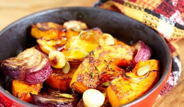 Зеленчуци с тиква по италиански