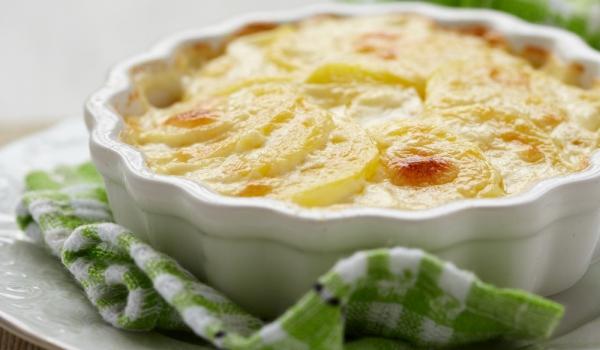 Картофи с моцарела и риган