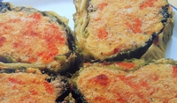Зелево руло с картофи на фурна