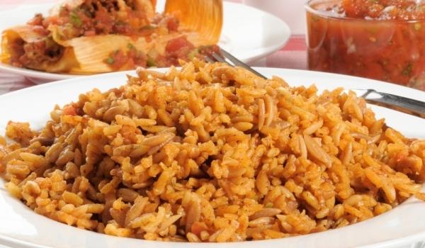 Кафяв ориз с кимион