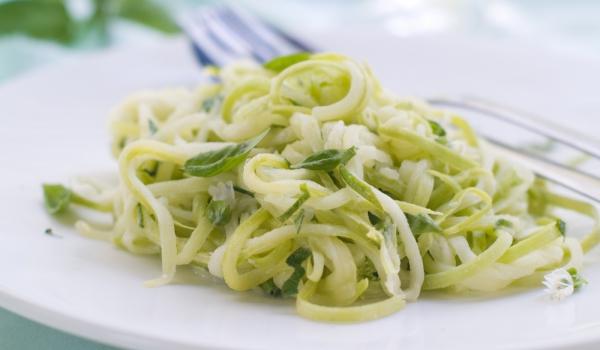 Спагети от тиквички