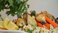 Средиземноморски кускус със зеленчуци
