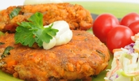 Зеленчукови кюфтенца на фурна